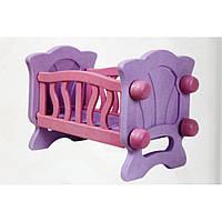 Кровать для кукол, в кор. 54*38*7см, ТМ Технок, Украина (4шт)(4166)