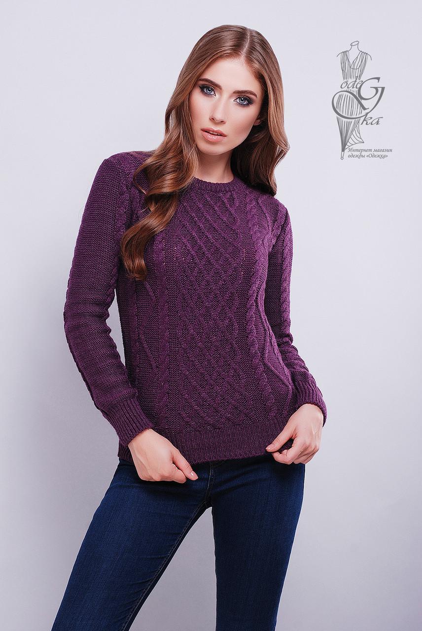 Красивые женские свитера Дебора-4 из шерстяной нити