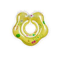 """Круг для купания младенцев, с пупсиками BABY, """"Яблоко""""цвет салатовый, Kinderenok(204238-001)"""