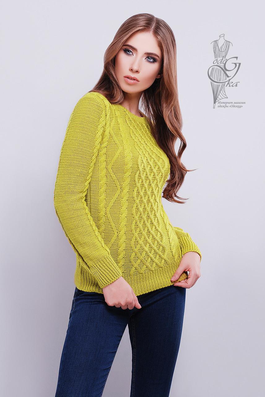 Красивые женские свитера Дебора-5 из шерстяной нити