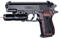 Пистолет, батар., пульки, в кор. 21*14,5см (120шт/2)(SP-3E)