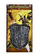 Набор рыцаря, щит, меч, знамя, в пак. 65*45см (36/2шт)(226255)