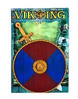 Набор рыцаря, 2 вида, щит, меч, знамя, в пак. 65*45см (24/2шт)(226149)