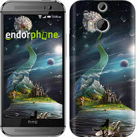 "Чехол на HTC One M8 Одуванчик ""2928c-30-716"""
