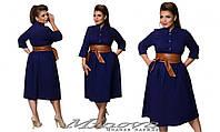 Платье стрейч джинс  р-ры 50-58