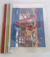 Папка А4 скоросшиватель, на планке, цена за уп. в уп. 10шт.(A-352)