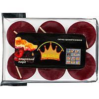 Набор арома-свечей Pragnis вишневый пирог 20 мм 6 шт N51156211