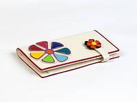 Кошелек Цветик-Семицветик белый Код:109549