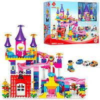 Конструктор LEPIN замок, парк развлечений, фигурки, 162 дет., в кор., 60*45*14,5см  (6шт)(88001)