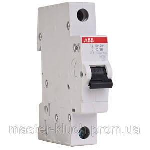 Автоматический выключатель АВВ SH 201-В16 A
