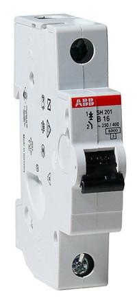 Автоматический выключатель АВВ SH201 В16A