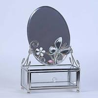Шкатулка с зеркалом Mirror butterfly Код:121207