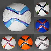 Мяч футбольный, 310-330 грамм, 32 панели, 8 цветов, в пак. 21см  (60шт)(779-837)