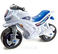 Мотоцикл 2-х колесный, белый, в пак.65*46см, ТМ Орион, произв-во Украина (1шт)(501Бел)