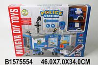 Игровой набор - конструктор Полицейский участок