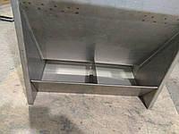 Кормушка свиней бункерная нержавейка 90 литров, фото 1