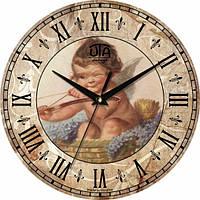 Настенные Часы Vintage Веселый Купидон Код:117815