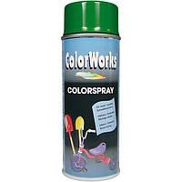 Аэрозоль ColorWorks универсальный зеленый 400 мл N50109042