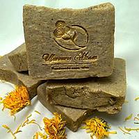 Мыло -скраб ручной работы для ног с экстрактом полыни и дубовых листьев., фото 1