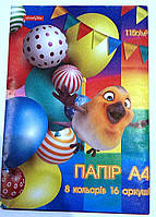 "Бумага кол. А4 16 арк 115 гр/м ТМ ""Фемілі Лайн"" Тетр.(492538)"