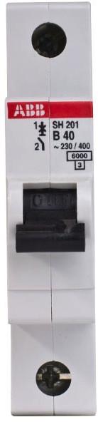 Автоматический выключатель АВВ SH 201-В40 A, 40А