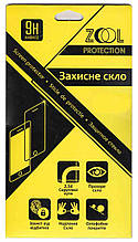 Защитное стекло iPhone 5/5s/5C.  2.5D ZOOL (в упаковке)