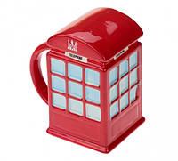 Кружка Красная телефонная будка Код:111153