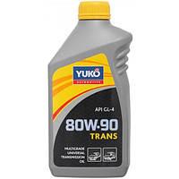 Трансмиссионное масло Yuko Trans API GL-4 80W-90 1 л N40740628