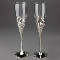 Свадебные бокалы Amia Код:107503