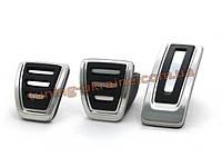 Оригинальные накладки на педали для Volkswagen Golf 7 2012