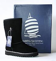Зимние сапоги угги Marina Yachting натуральная замша и шерсть 36