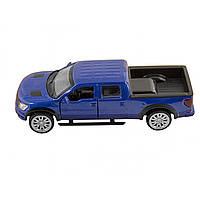 Машина металева Ford F-150 Автопром, відчиняються двері, в коробці 67329