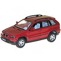 Машина металева BMW X5 Kinsmart KT-5020-W в коробці 16х8,5х7,5см