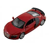Машина металева Audi R8 Автопром, відчиняються двері, в коробці 67333