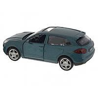 Машина металева Porsche Cayenne Автопром, відчиняються двері, в коробці 67302
