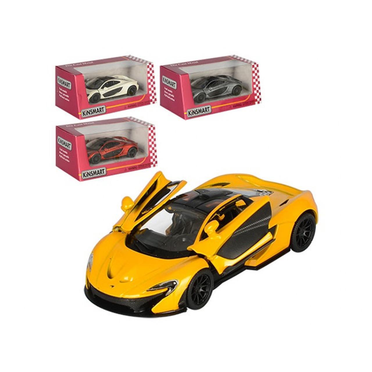 """Машина металева """"Kinsmart"""", в коробці, 16 х8х7см (24) (96) №KT-5393-W"""
