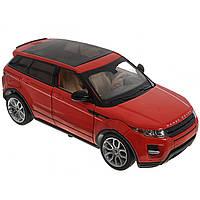 Машина металева на батарейці Range Rover Evogue Автопром звук, світло, відчиняються двері, в коробці 68244A