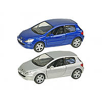Машина металева Peugeot 307 XSI KT5079W в коробці