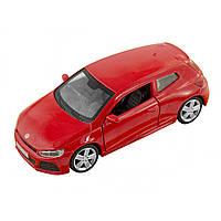 Машина металева Volkswagen Scirocco A6 Автопром, відчиняються двері, в коробці 67322