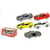 "Машина металева ""Kinsmart"" Chevrolet Camaro, в коробці (24) (96) КІ №KT5383 WF"