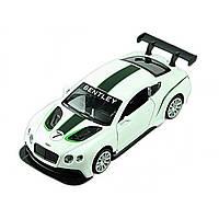 Машина металева Bentley Continental Автопром, відчиняються двері, в коробці 67319
