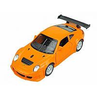 Машина металева Porsche 911 Автопром, відчиняються двері, в коробці 67304