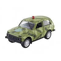 Машина металева Автопром відчиняються двері, в коробці 12х5.7х6.8см 6400BCDE, фото 1