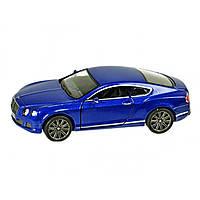 Машина металева Bentley Continental GT Speed Kinsmart KT-5369-W в коробці 16х8,5х7,5см