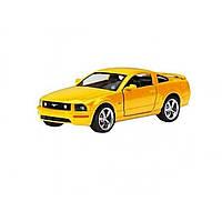 Машина металева Ford Mustang Kinsmart KT-5091-W в коробці 16х8,5х7,5см