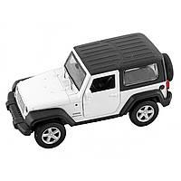Машина металева Jeep Wrangler Автопром, відчиняються двері, в коробці 67325
