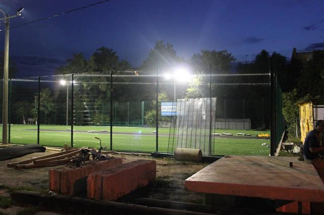 Строительство спорт площадки 15