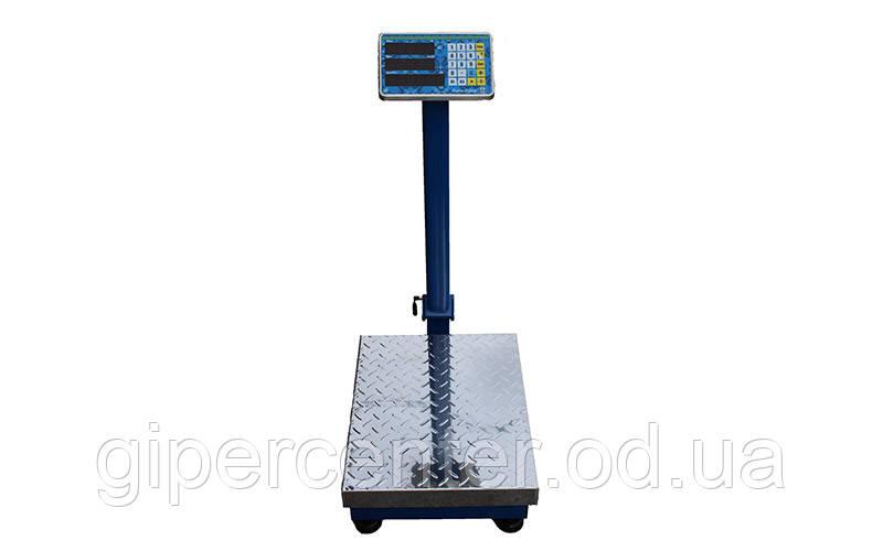 Ваги товарні Вагар VB-P до 150 кг, 400х500 мм, зі стійкою
