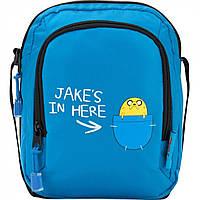 """Сумка """"Kite"""" Adventure Time 1 відділення, 1 кишеня№AT17-1006"""