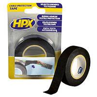 Текстильная лента НРХ для защиты кабеля 19 мм черная 10 м N40731671